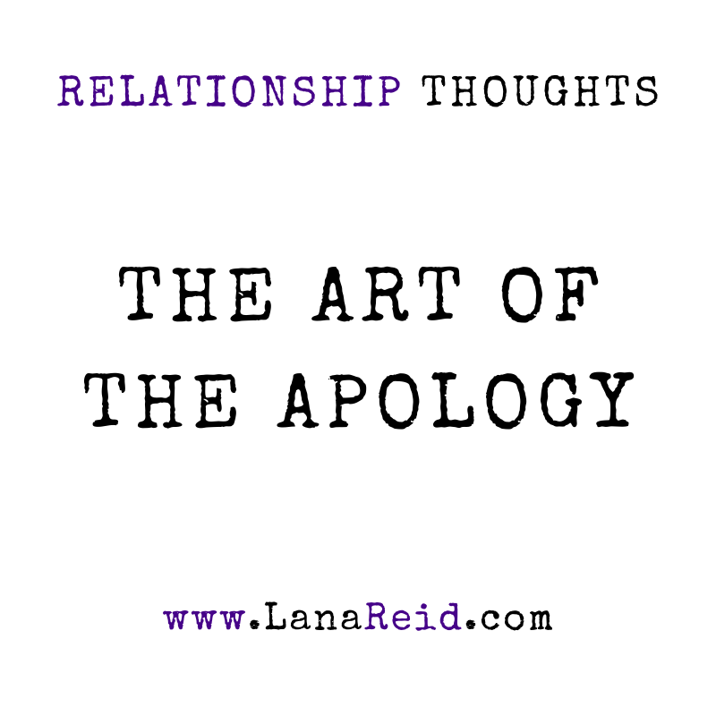 Lana Reid- Relationship Thoughts