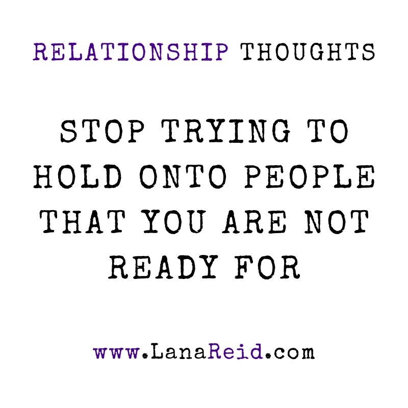 Lana Reid - Relationship Thoughts